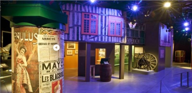 """Exposition """"Fouette cocher"""" Ecomusée de Rennes. Expo_r14"""