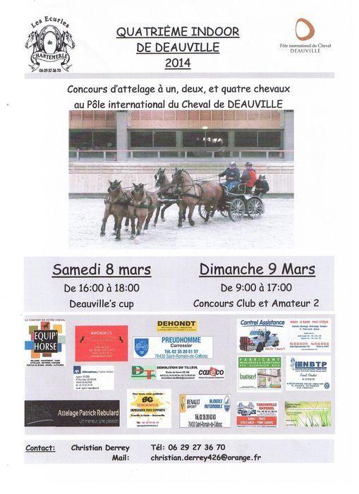 Mars 2014 - 4ème Indoor Deauville-PIC - Le concours Amateur 2 et Club Indoor10