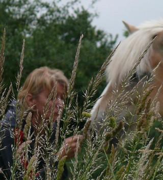 Guyonne, la passion du cheval... avec ses blonds ! P1390110