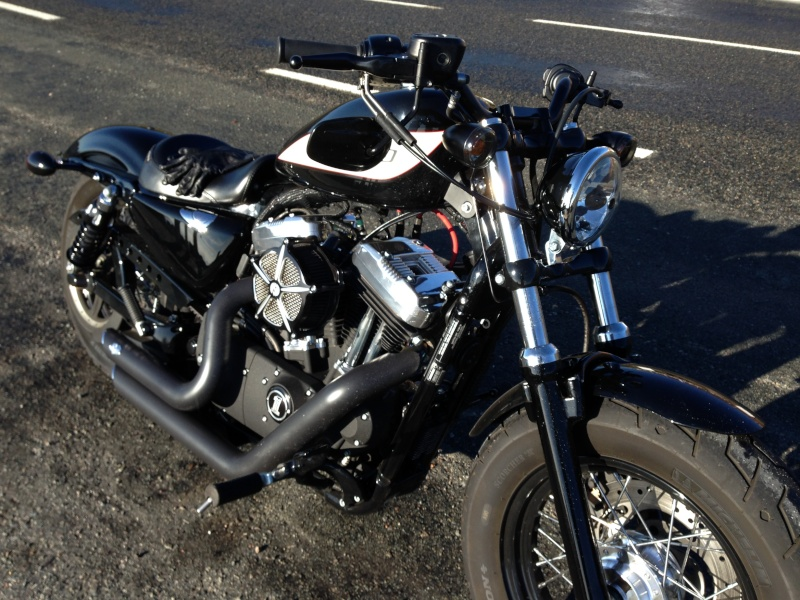 Harley Davidson Sporster 1200 Forty Eight avec quelques modifs ... - Page 4 Img_2412