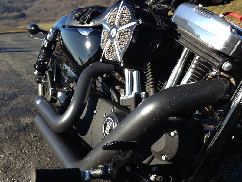 Harley Davidson Sporster 1200 Forty Eight avec quelques modifs ... - Page 4 Img_2414