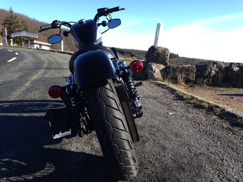 Harley Davidson Sporster 1200 Forty Eight avec quelques modifs ... - Page 4 Img_2415