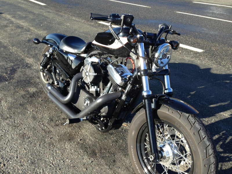 Harley Davidson Sporster 1200 Forty Eight avec quelques modifs ... - Page 4 Img_2417