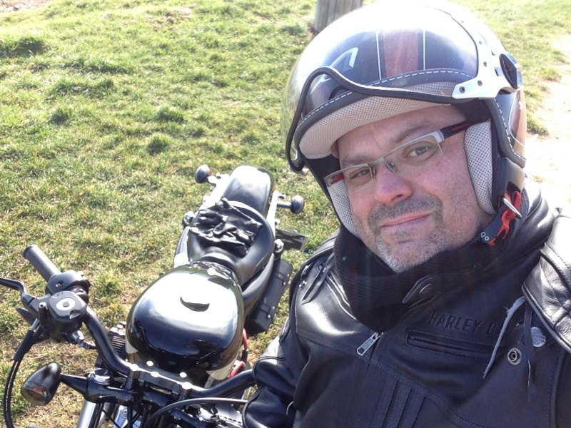 Harley Davidson Sporster 1200 Forty Eight avec quelques modifs ... - Page 4 Img_2423