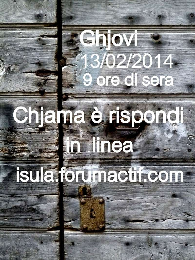 CHJAMA È RISPONDI IN LINEA 13/02/2014 P1060710