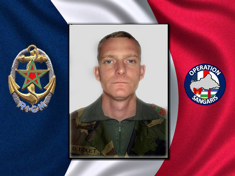 République centrafricaine : mort accidentelle d'un soldat français 2_drap10