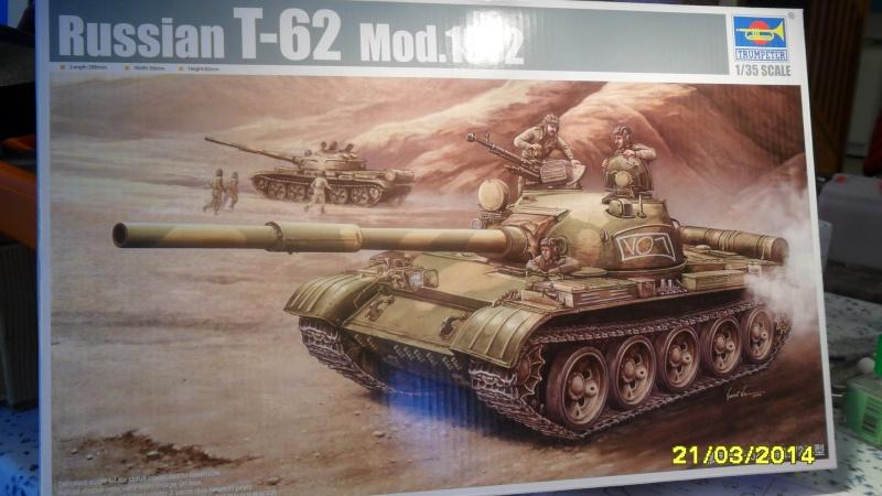 """T-62 MOD7LE 62  """"TRUMPETER"""" 2014-043"""