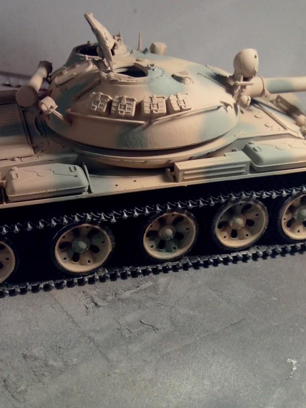 """T-62 MOD7LE 62  """"TRUMPETER"""" 2014-089"""