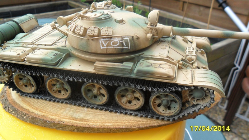 """T-62 MOD7LE 62  """"TRUMPETER"""" 2014-131"""