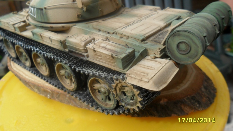 """T-62 MOD7LE 62  """"TRUMPETER"""" 2014-136"""