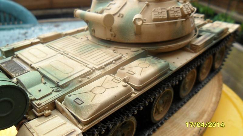 """T-62 MOD7LE 62  """"TRUMPETER"""" 2014-137"""