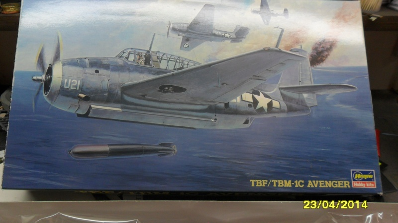 "AVENGER  TBF/TBM-1C  ""HASEGAWA  1/72 "" 2014-147"
