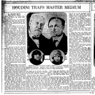 An Overview of Spiritualism's History Houdin10