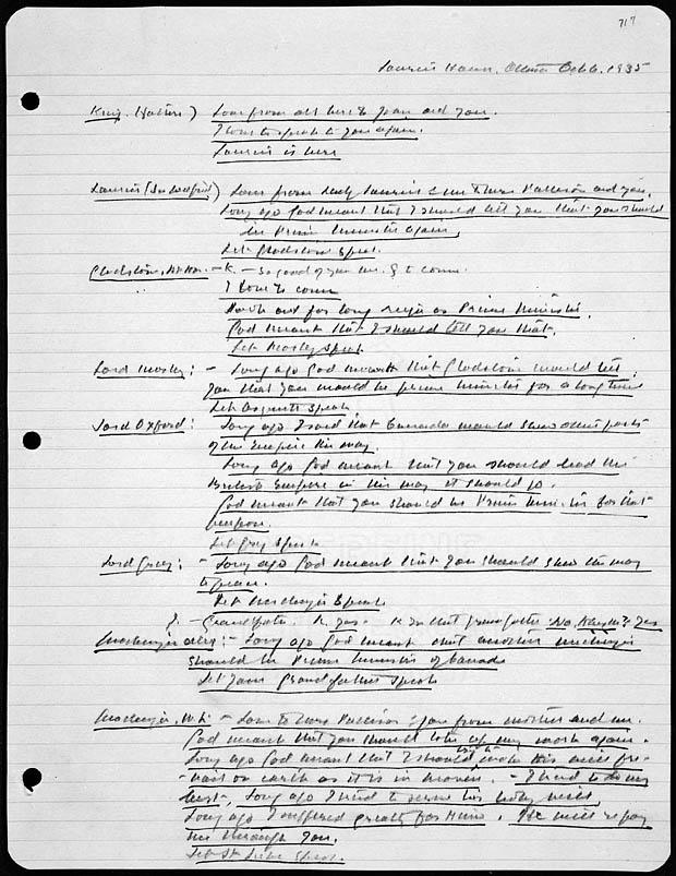 William Lyon Mackenzie King The Spiritualist Prime Minister Seance10