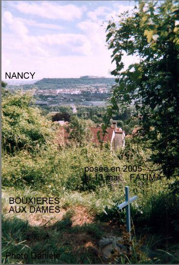 LA VIERGE MARIE A BOUXIERES AUX DAMES AU NORD DE NANCY EN LORRAINE-BERCEAU CAROLINGIENS-CAPETIENS après le FRANKENBOURG Bouxie22