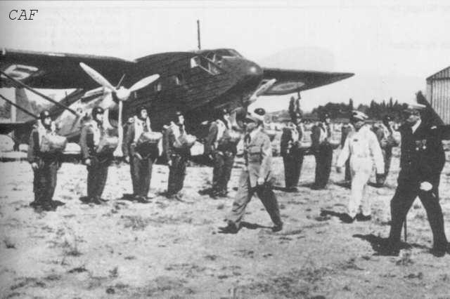 601ème et 602ème Groupes d'Infanterie de l'Air donne naissance au 1er RCP 601_6010