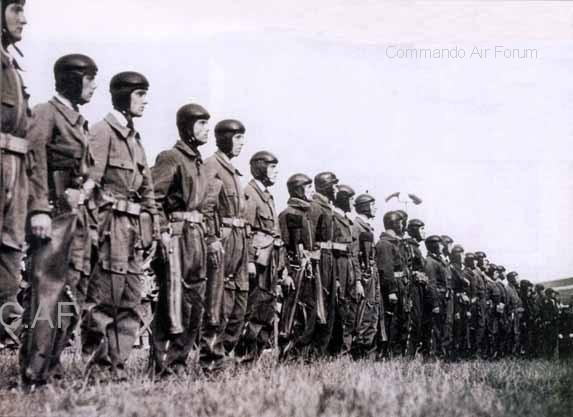 601ème et 602ème Groupes d'Infanterie de l'Air donne naissance au 1er RCP 60210