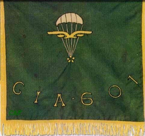 601ème et 602ème Groupes d'Infanterie de l'Air donne naissance au 1er RCP Fanion10