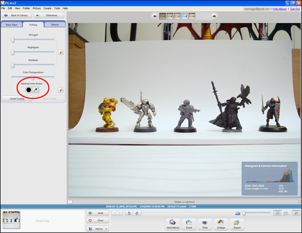[Tutorial] Taking Photos of your Miniatures (by Hyun) 2008-032