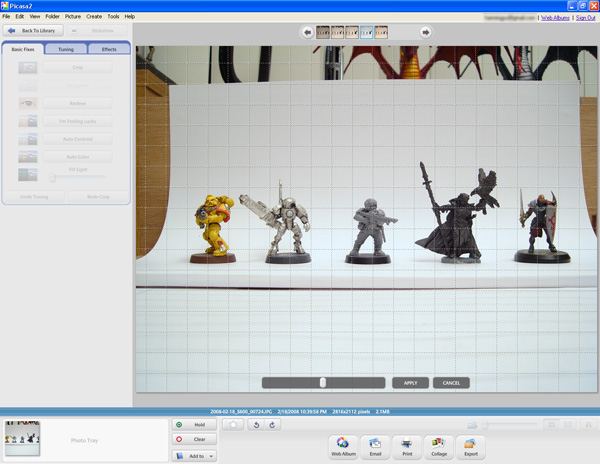 [Tutorial] Taking Photos of your Miniatures (by Hyun) 2008-033