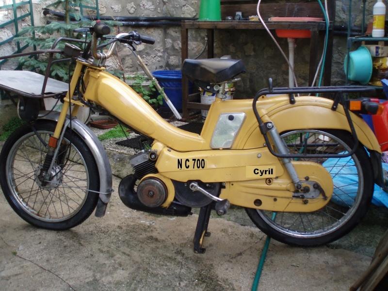 Une 2ème vie aux vélos de la poste : le gitane cadre alu - shimano nexus P9040211