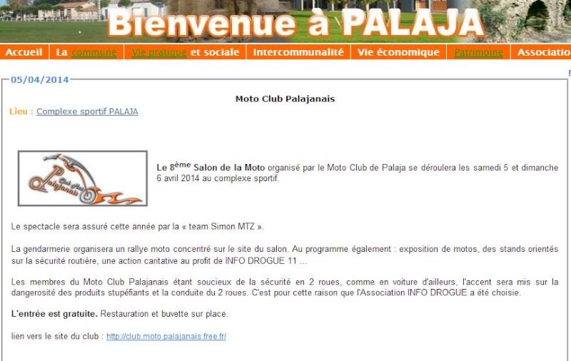 Salon de la moto à Palaja (Aude) 5/6 avril 2014 Palaj10