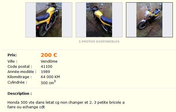 LBC 500 vte 200€ ( vendue ) Vit210