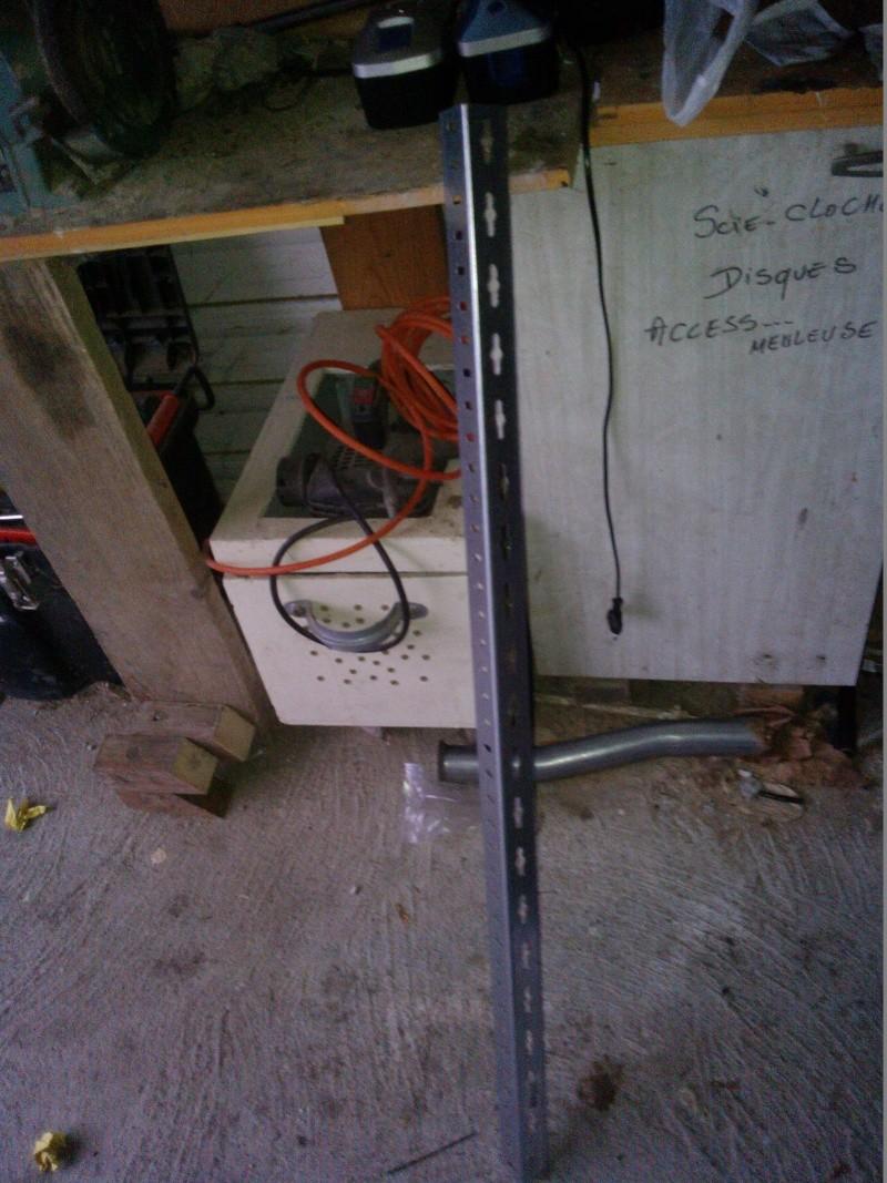 """fabriquer support de  """"U"""" (exterieur) de porte bagage toute moto: ici dov 650 Wp_00137"""