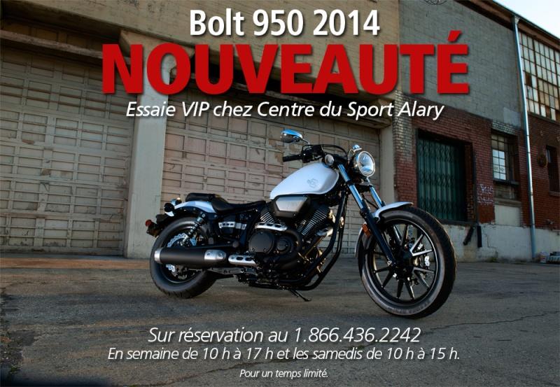 Motocyclette Bolt 950 2014 de Yamaha - NOUVEAUTÉ Bolt10