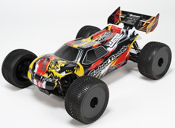 MON....Basher SaberTooth 1/8 Scale Truggy 25136s11