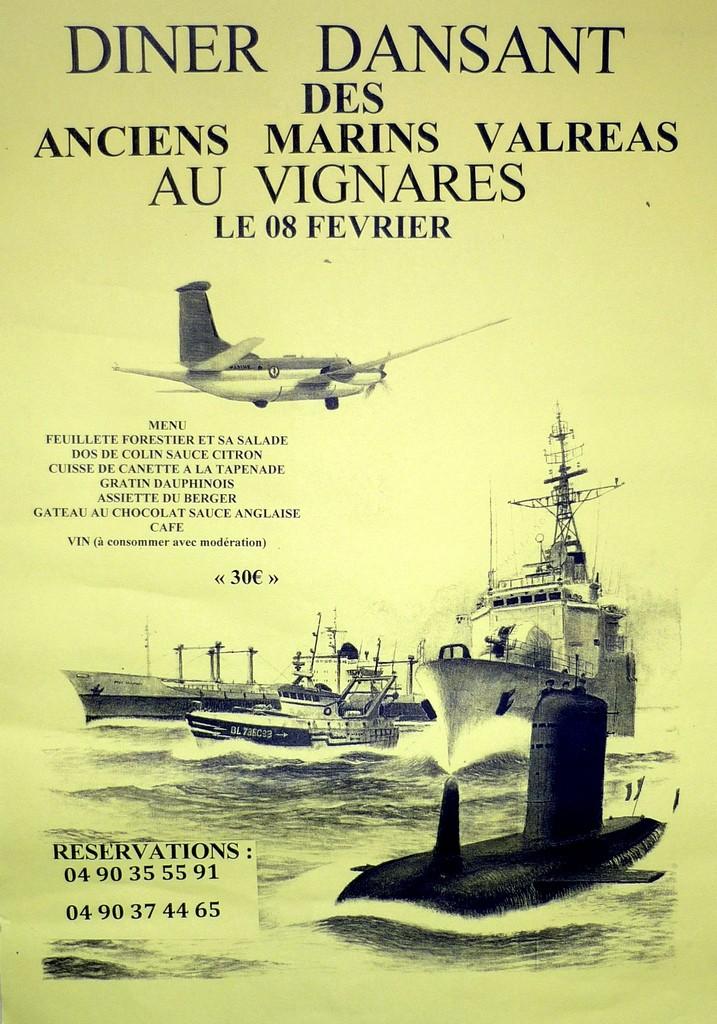 [ Associations anciens Marins ] Amicale des Anciens Marins du Canton de Valreas 84 00611