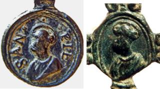San Pedro / Salvator Mundi y Mater Salvatoris - s. XVII (R.M. Pe Salvator 27) Sin_tz10