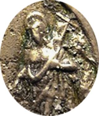 San Juan Bautista / Santos a identificar.  Pezuelada s. XVI Vqdmtw11