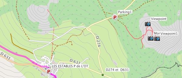 Comment afficher des cartes dans Base Camp Captur29