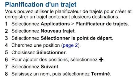 """Problème avec l'application """"Planification de trajets"""" depuis firmware 4.20 Captur58"""