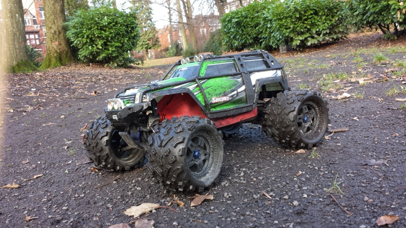Protection/Protections Chassis Rustler Bandit 20131223