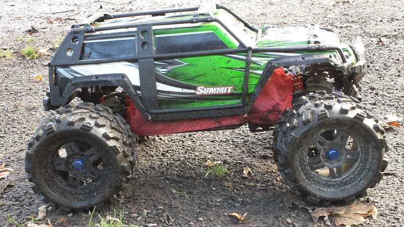 Protection/Protections Chassis Rustler Bandit 20131224