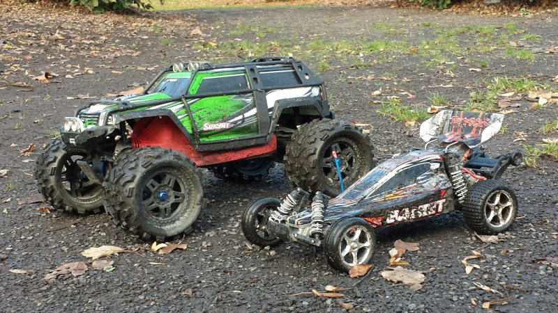 Protection/Protections Chassis Rustler Bandit 20131225