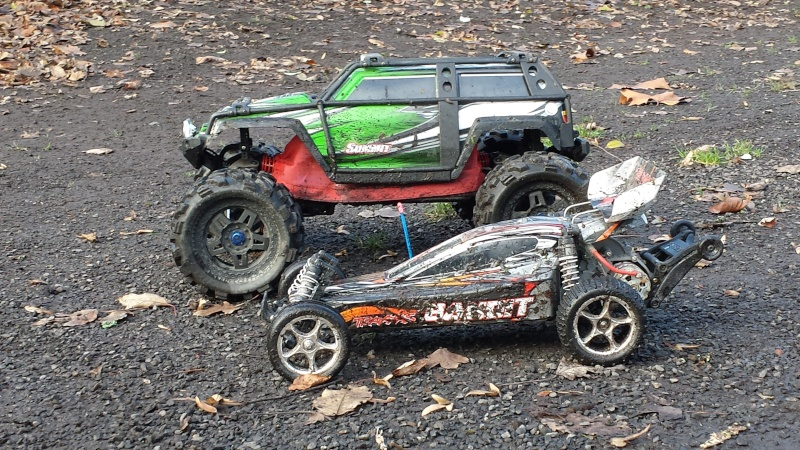 Protection/Protections Chassis Rustler Bandit 20131226
