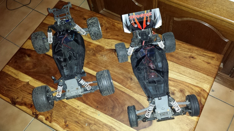 Protection/Protections Chassis Rustler Bandit 20140118