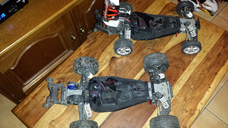 Protection/Protections Chassis Rustler Bandit 20140119