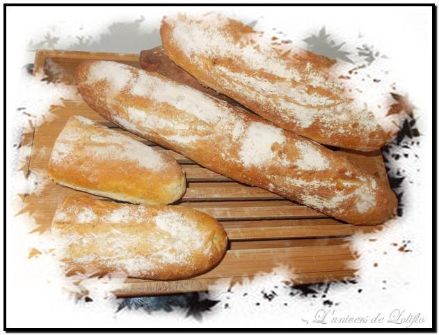 Pain et baguette avec farine Soezie Dscn0914