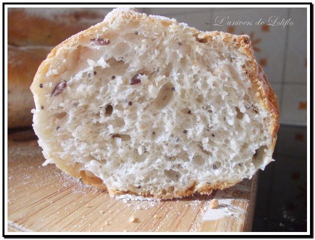 Pain et baguette avec farine Soezie Dscn0915