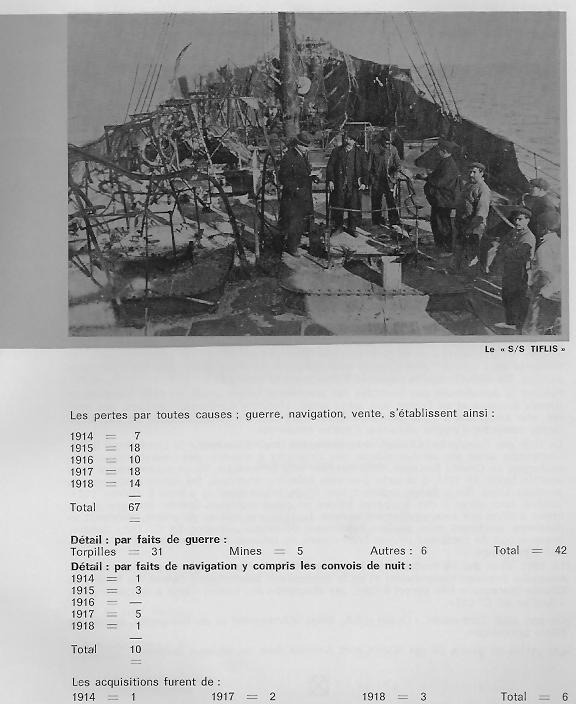 la marine marchande belge 1914-1918 B210