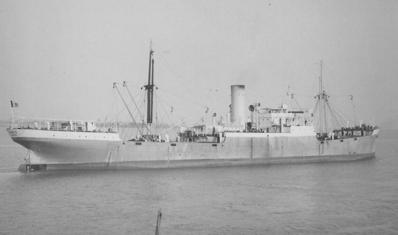 Navires marchands belges coulés lors de la 2ème guerre Kabalo10