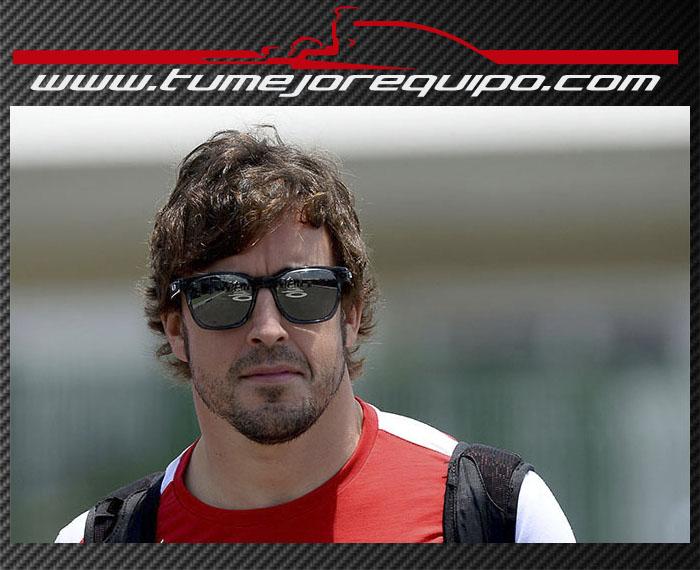 "Fernando Alonso: ""Preocupa la ventaja de Red Bull""  01410"