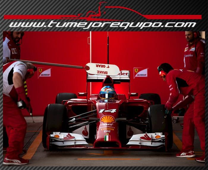 """Fernando Alonso:""""Hemos dado muchas vueltas que era el objetivo de estos test""""  1alo110"""