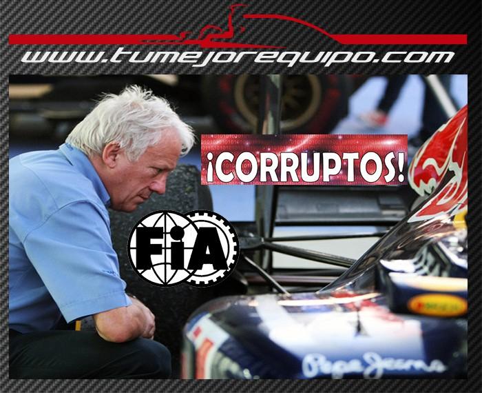 Los Corruptos de la maFIA se defienden !! Charli10
