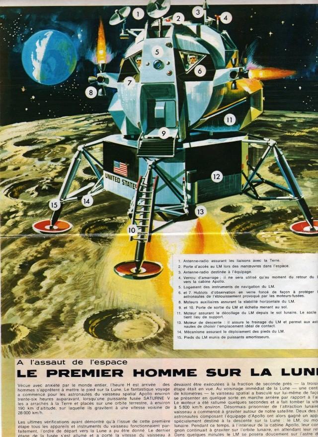 Le module lunaire d'Apollo Alunis10