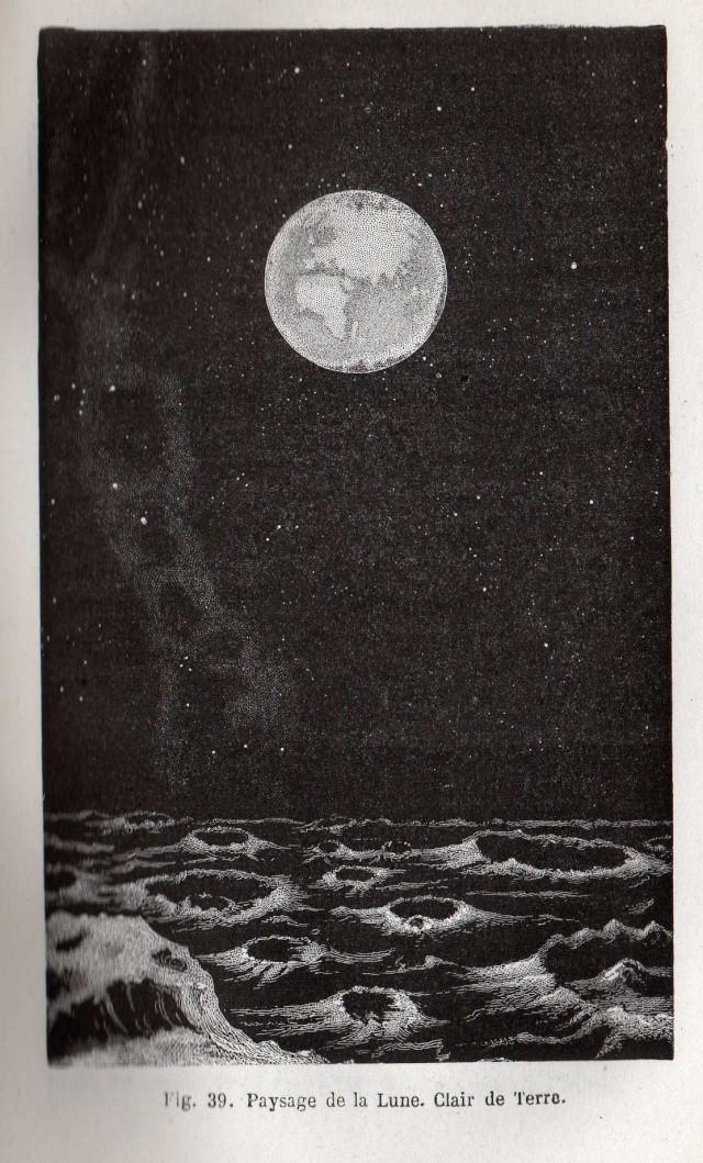 La Lune et les livres d'astronautique Livre013